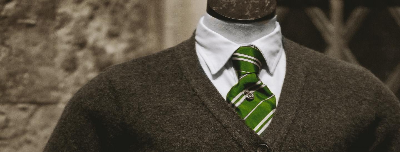 Grüne Krawatte