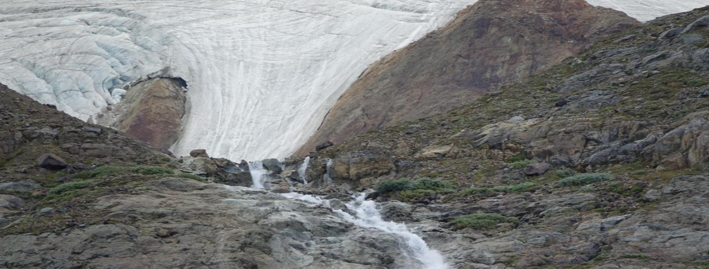 Lo scioglimento del ghiacciaio Vedretta Serana