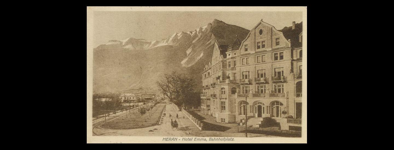 »Zauberberg« in Meran: Grand Hotel Frau Emma.