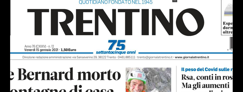 Trentino, Sie, giornale