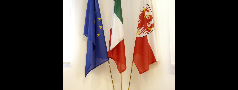 bandiera Sudtirolo Europa