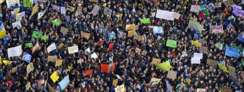 Schülerstreik 15. Februar