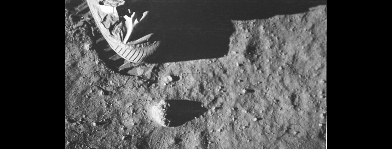L'impronta del piede di Armstrong
