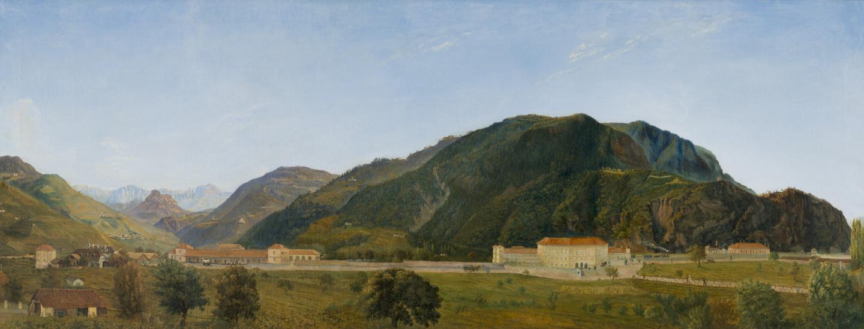 Stazione di Bolzano, Olio, Ditter von Dittersheim 1860
