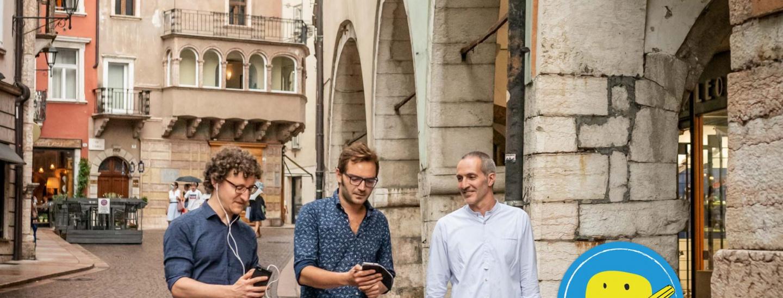 Hidden Trento, app, team