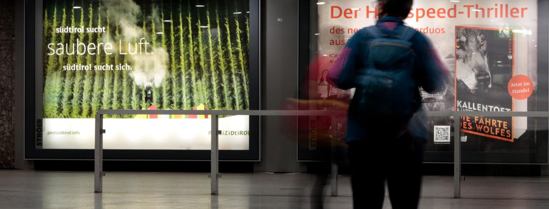 Pestizidtirol-Plakat in München