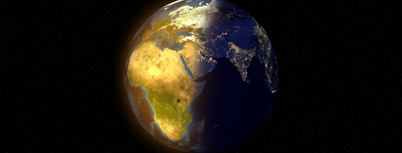 Afrika am Globus