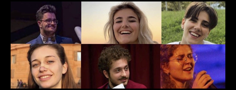 Alessandro, Francesca, Federica, Anna, Domenico, Sofia