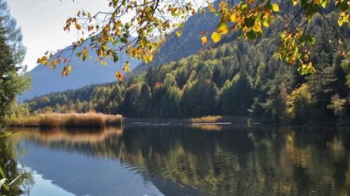 Der Vahrner See im Spätsommer