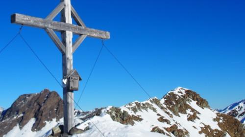 Gipfelkreuz am Hochwart 2608 m