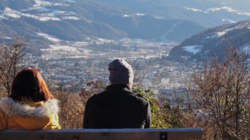 Toller Blick auf Brixen