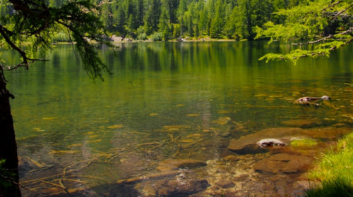 Der romantische Puntleider See