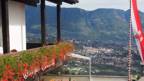 Ebeneich mit der Panoramaterrasse