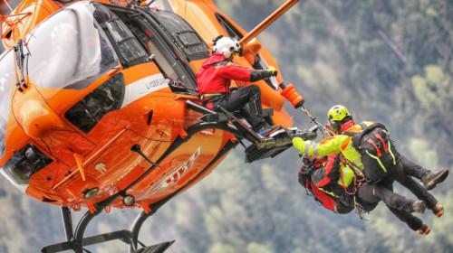 intervento emergenza Pelikan elicottero Heli