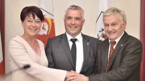 Ledl-Rossmann, Noggler e Kaswalder.