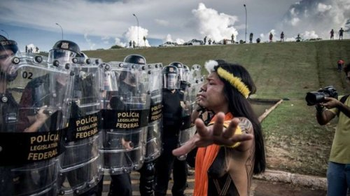 Indigenous police environmental activism