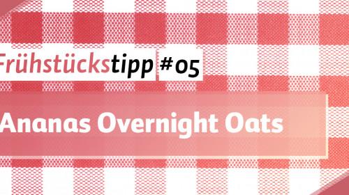Ananas Overnight Oats