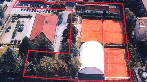 Campi da tennis militari in viale Druso