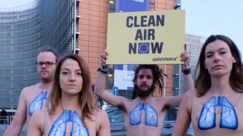 Protesta Greenpeace