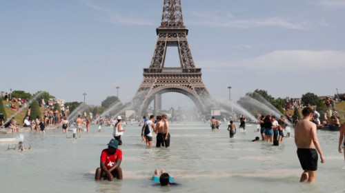 Ondata caldo Francia
