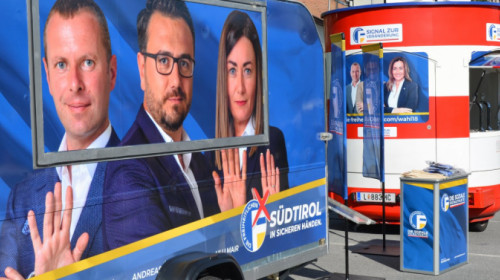 Wahlkampfauftakt Freiheitliche