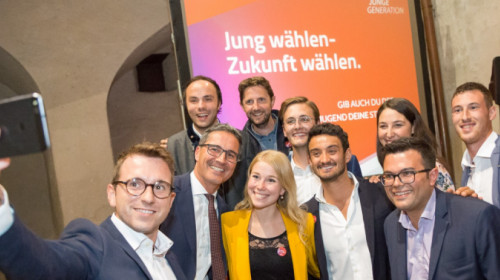 JG im Wahlkampf