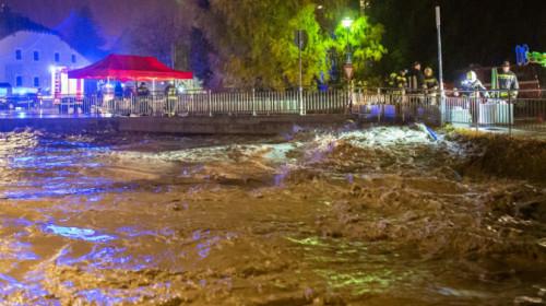 Überflutung Innichen