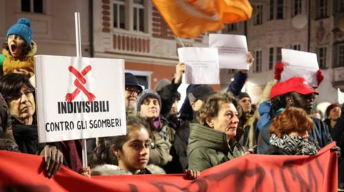 Bolzano sit-in