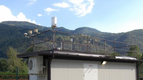 stazione misura ozono Alto Adige