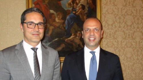 Arno Kompatscher und Angelino Alfano