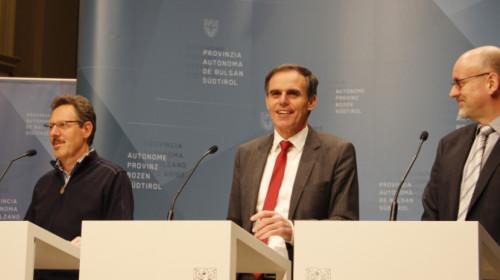 Ernesto Scarperi, Richard Theiner e Flavio Ruffini