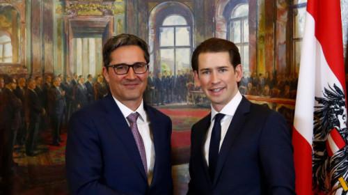 Arno Kompatscher und Sebastian Kurz