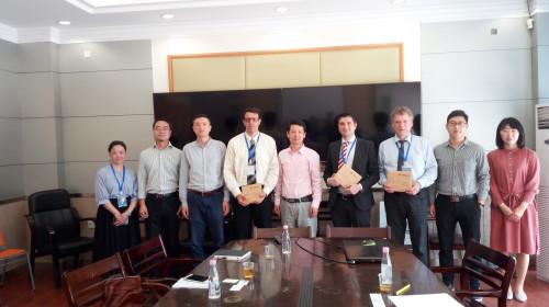 a delegation xiamen university