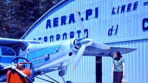 Flugplatz Cortina