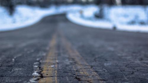 asphaltierte Straße