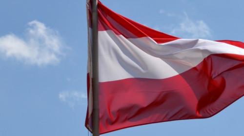 Österreichische Fahne