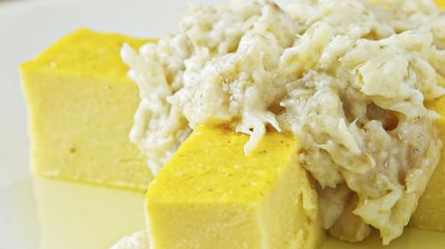 baccalà e polenta