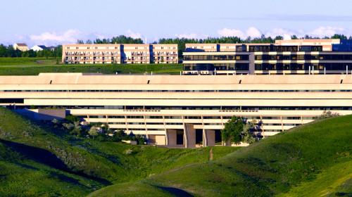 Il palazzo principale dell' Università di Lethbridge