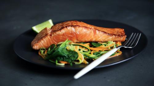 Proteinreiche Mahlzeit