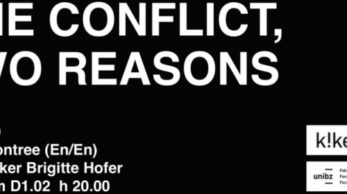 One conflict, two reasons