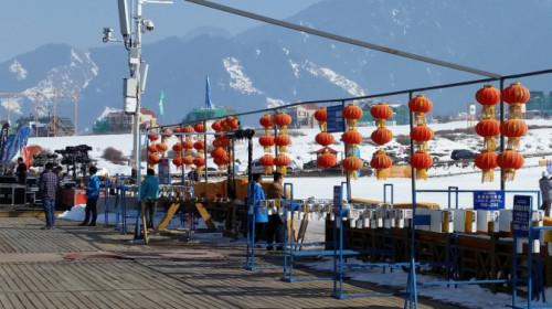 Cina, comprensorio sciistico Silk road
