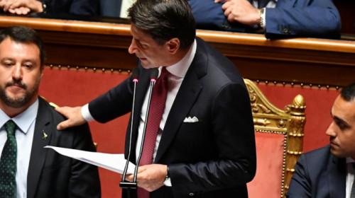 Conte, Salvini, Di Maio