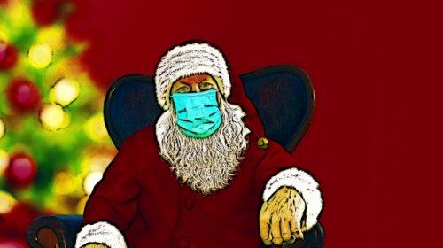 Natale, Babbo, Covid, coronavirus