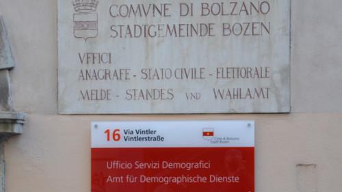 Anagrafe Bolzano Comune