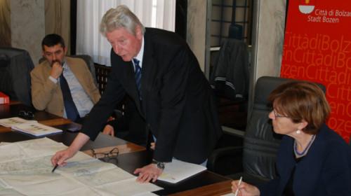 Pums sindaco Renzo Caramaschi Comune Bolzano