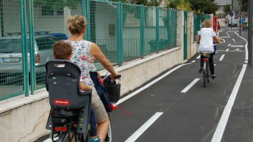 ciclabile via santa Geltrude, Oltrisarco, bici, mobilità, Bolzano