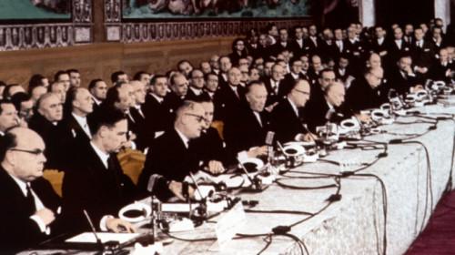Unterzeichnung Römischer Verträge 1957
