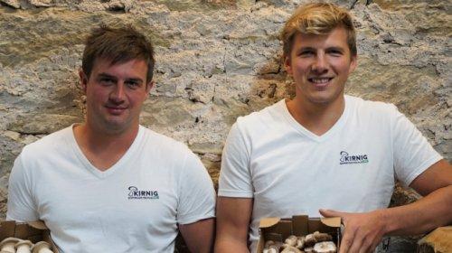 Josef Obkircher und Andreas Kalser