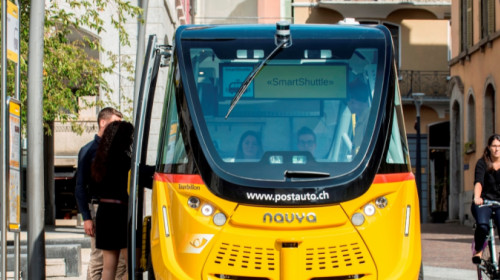 Smart Shuttle in Sion