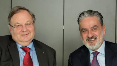 SEV-Präsident Hanspeter Fuchs & SEV-Direktor Rudi Rienzner